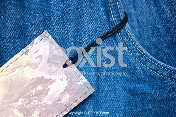 Jeans With Label Tag