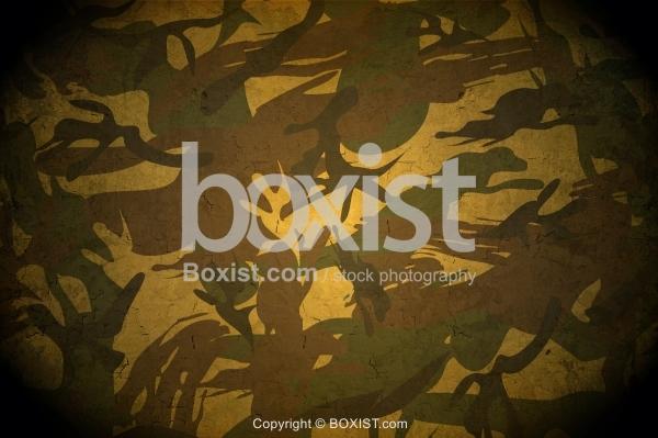 Grunge Army Patterns Dark Background