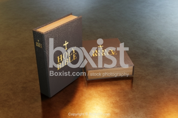 Books Of Holy Bible 3D Design