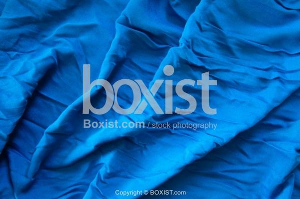 Blue Cyan Color Silk Background