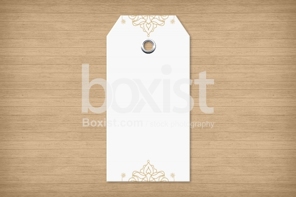 Blank Decorative Paper Tag