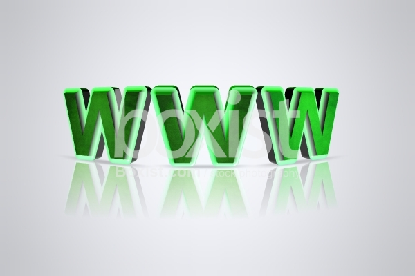 3D Green World Wide Web