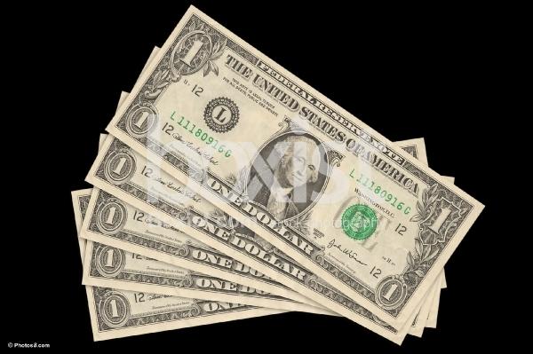 1 Dollars Bills