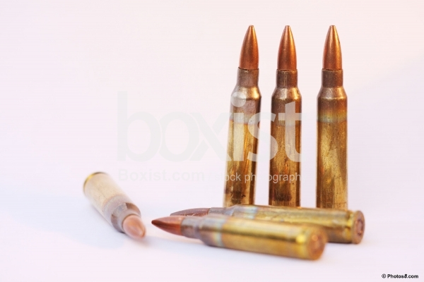 5-56mm Rifle Bullets