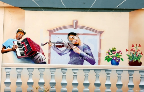 Musicians Wall Art Paint