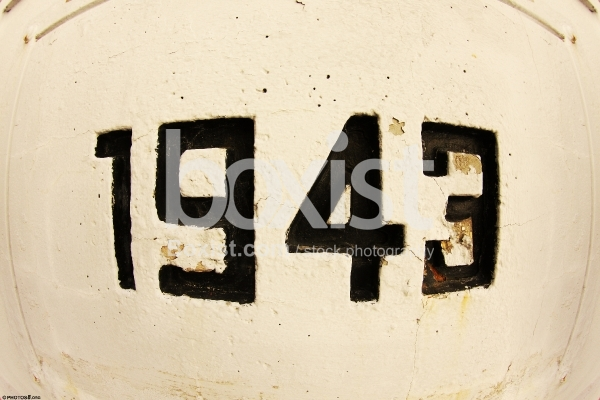 Wall Sign of Year 1943