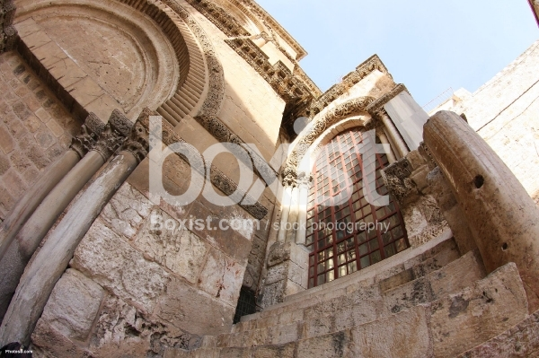 Walls of Church Holy Sepulchre