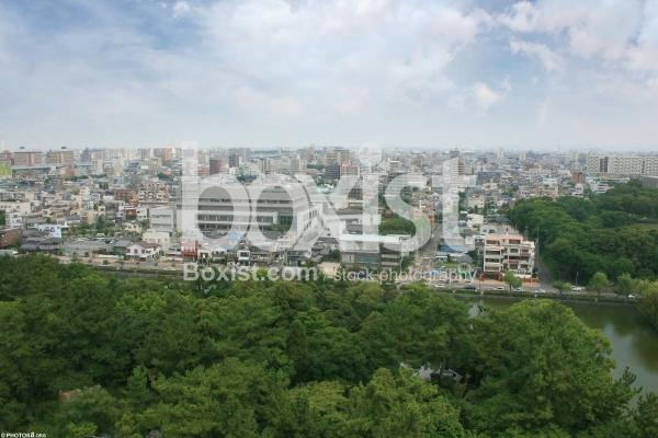 View Over Osaka City