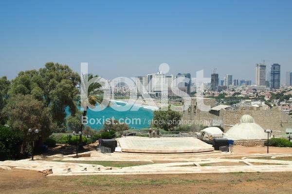 View of Tel Aviv City from Jaffa