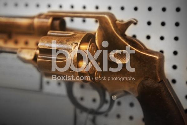 Vintage Revolver Gun