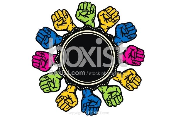 Unity Hands Logo